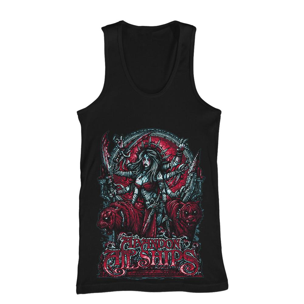 Shiva Black Tank Top