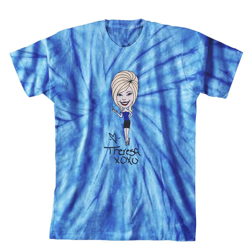 Theresa Blue Tie Dye YOUTH