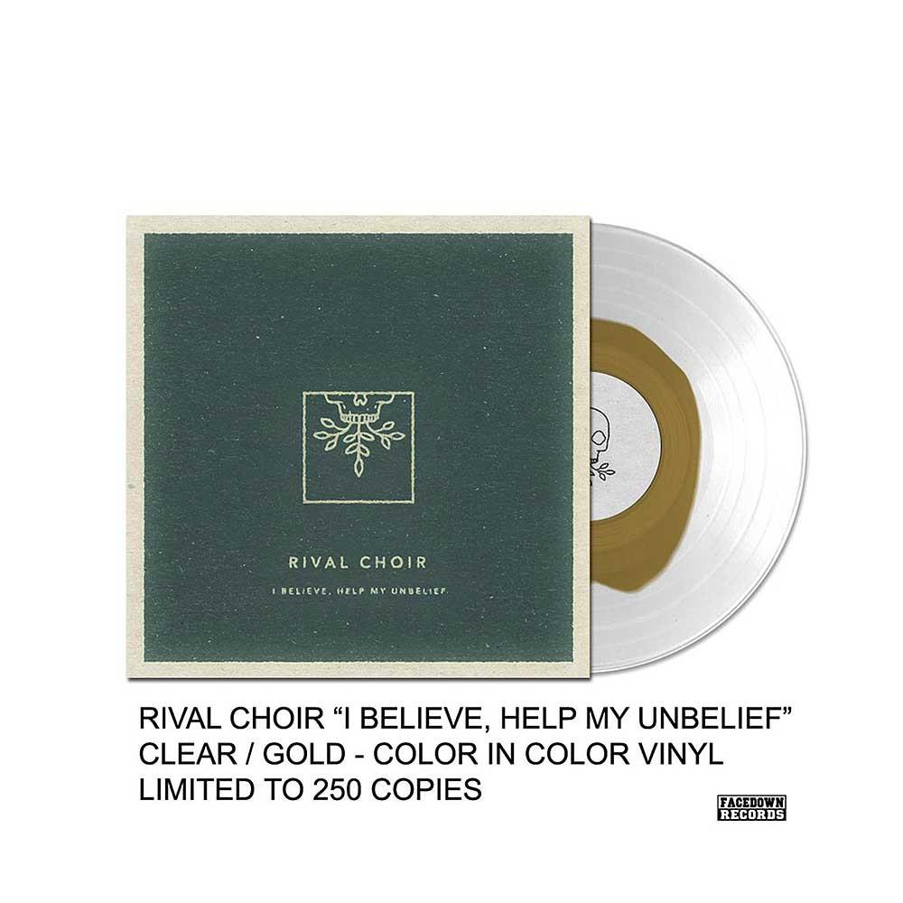 I Believe, Help My Unbelief Clear/Gold Vinyl LPsale