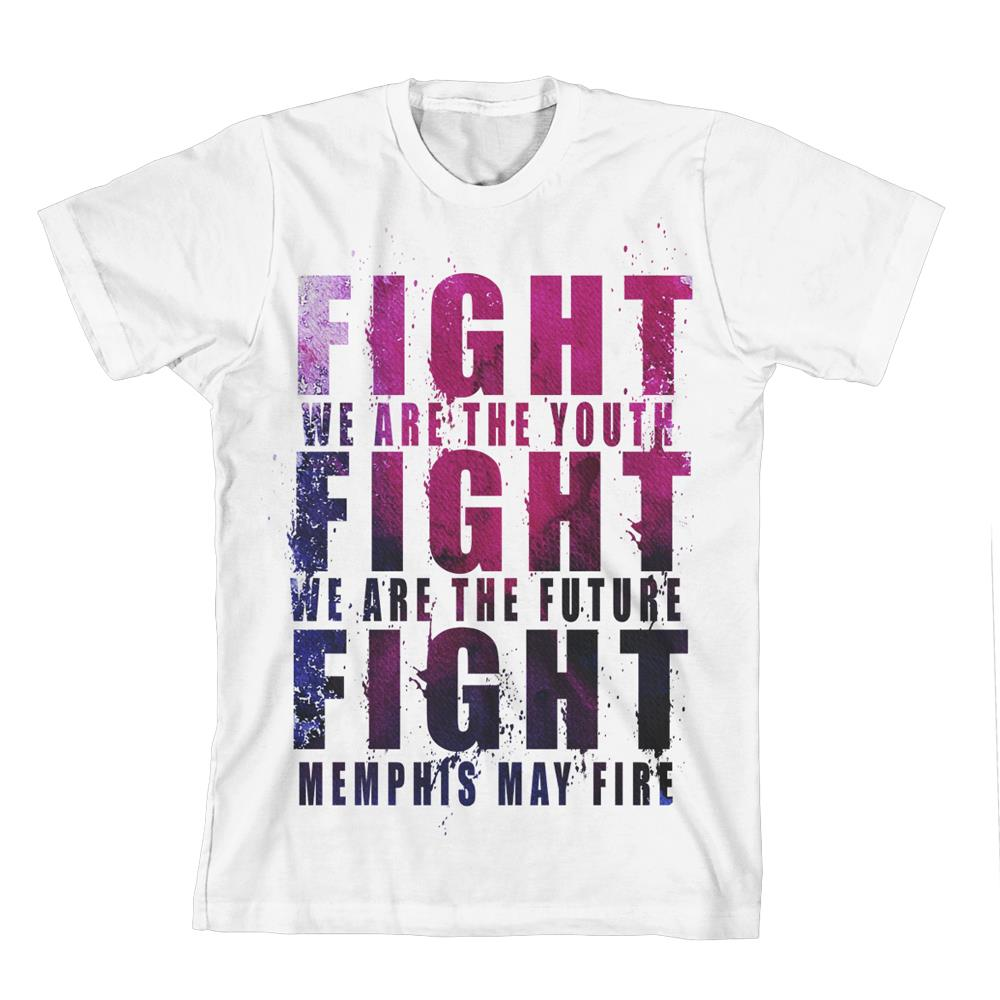Fight Fight Fight White