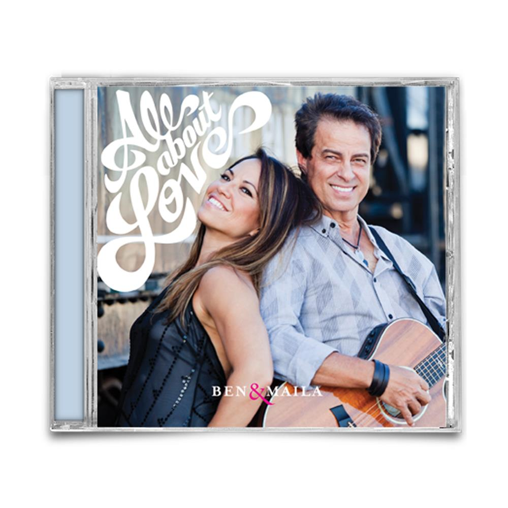 Ben & Maila - All About Love CD