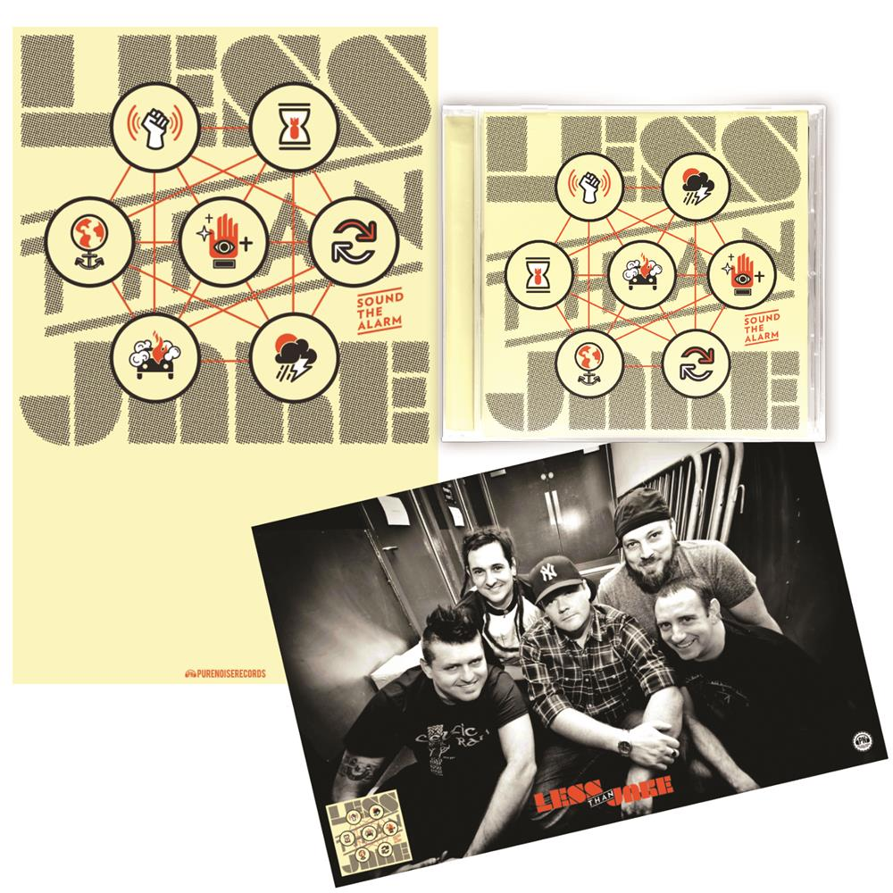 Sound The Alarm CD/Poster