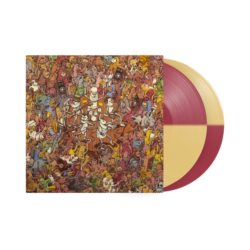 Tree City Sessions Half Oxblood/Half Beer Vinyl 2Xlp