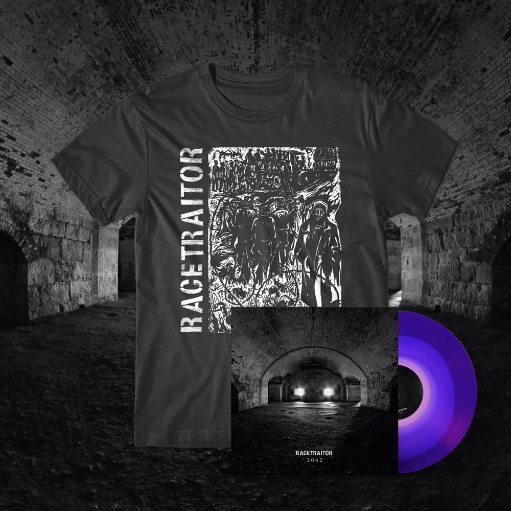 2042 - Anti-War T-Shirt + LP