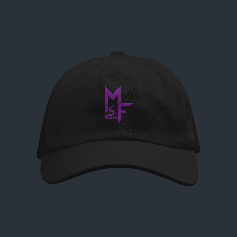 Purple Logo Black