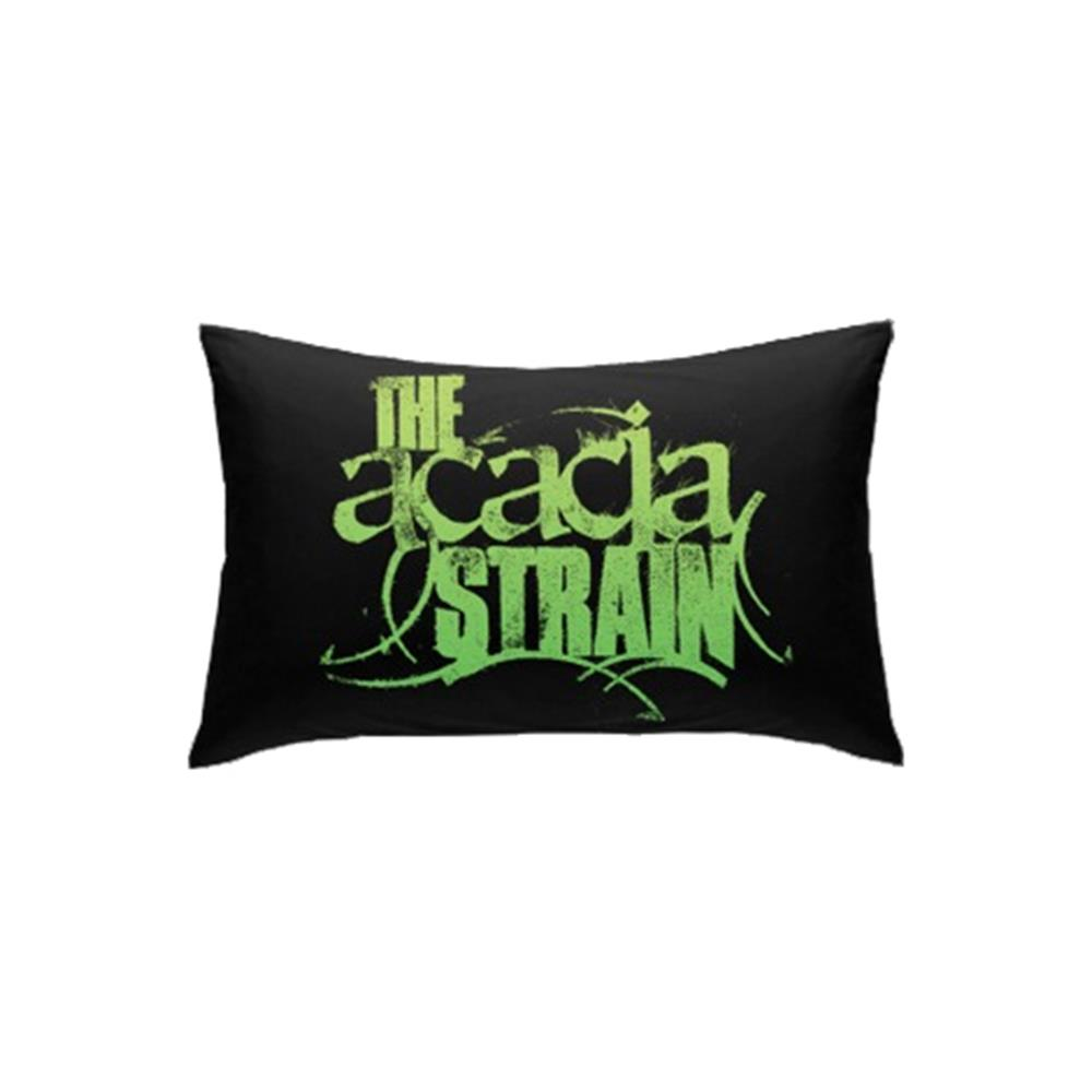 Logo Black Pillow Case