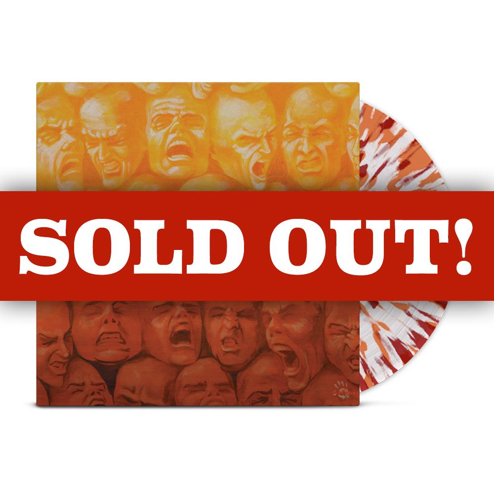 Bloodlust Revenge 20th Anniversary Clear w/ Orange & Red Splatter LP