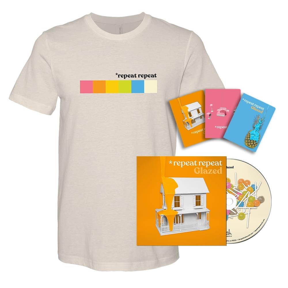 Glazed CD + T-Shirt + Limited Edition Notebooks