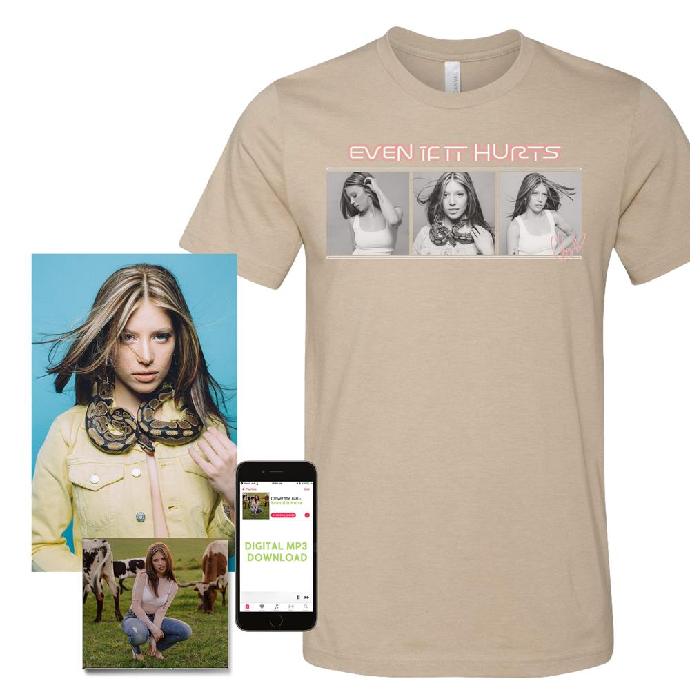 TAN EVEN IF IT HURTS TEE : IVR0 : MerchNOW - Your Favorite