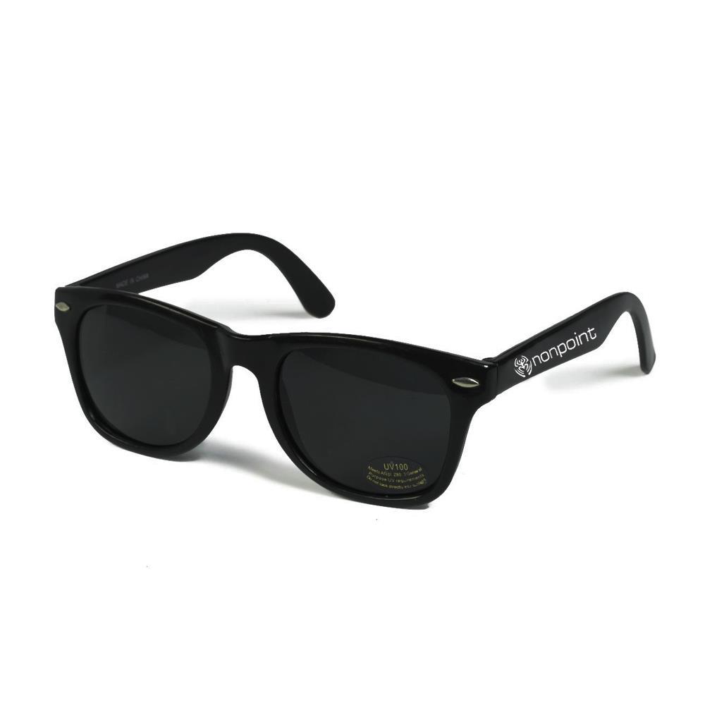 Nonpoint Logo Black Sunglasses