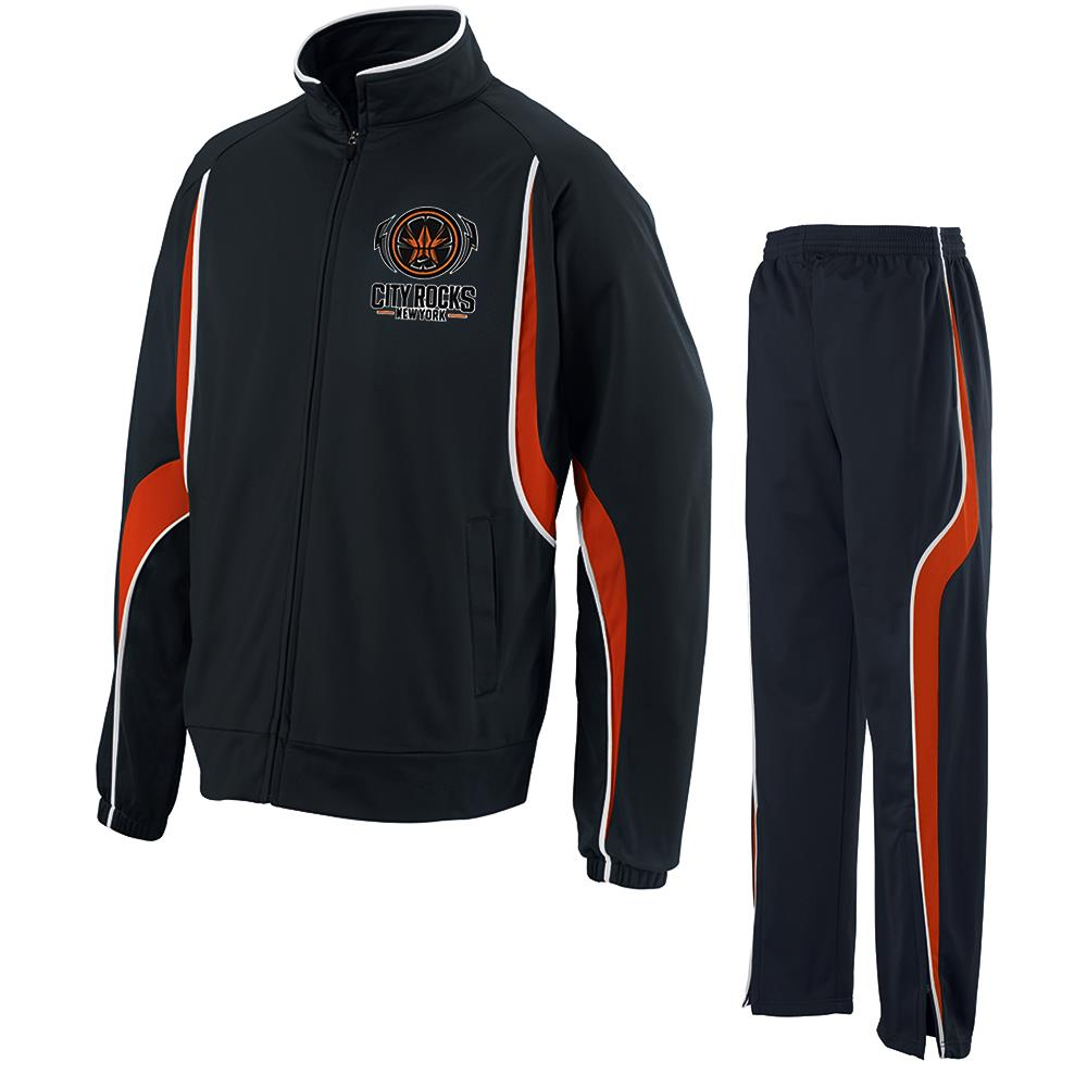 New York Logo Black Track Suit