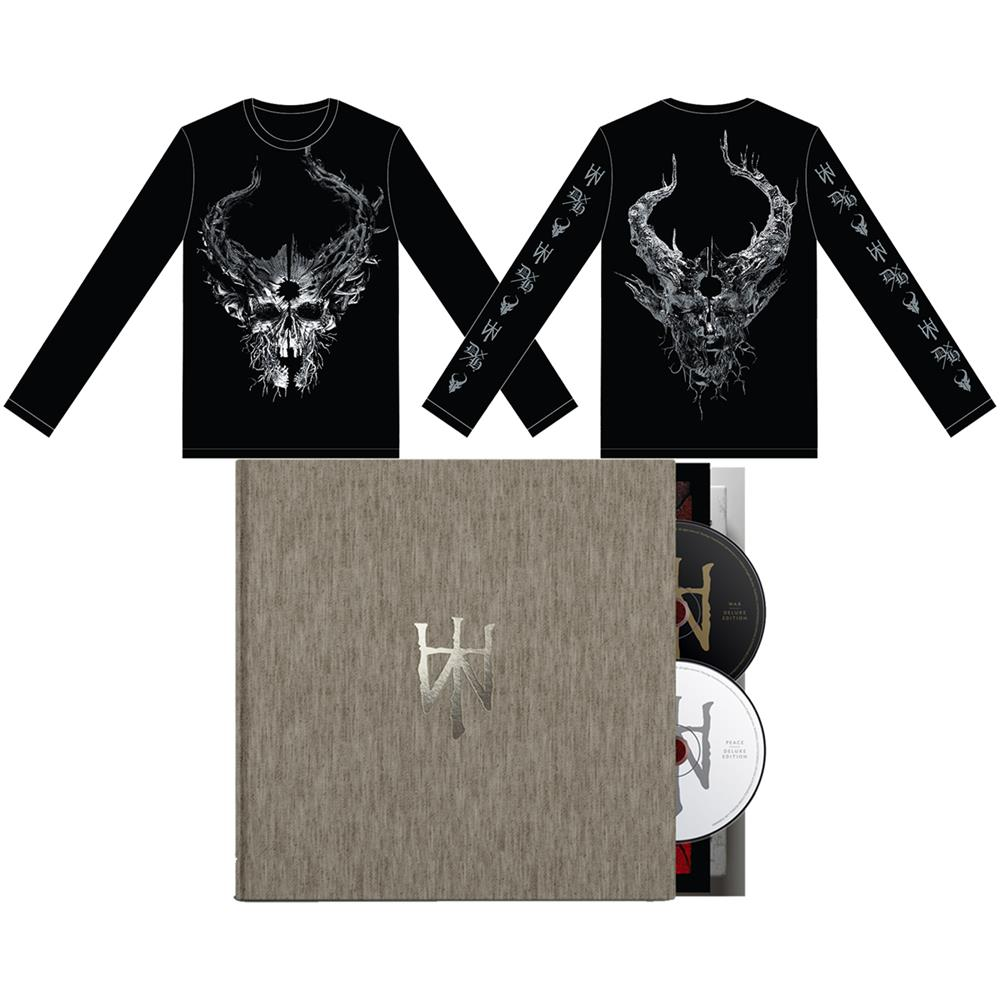 Peace/War Black Long Sleeve + Deluxe Edition Book