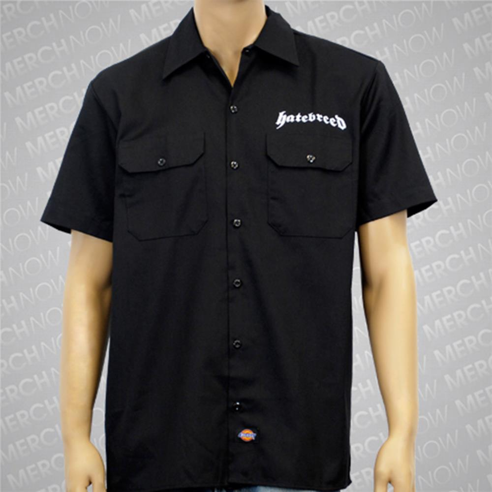 Mace Logo Black Workshirt : H8B0 : MerchNOW - Your Favorite Band