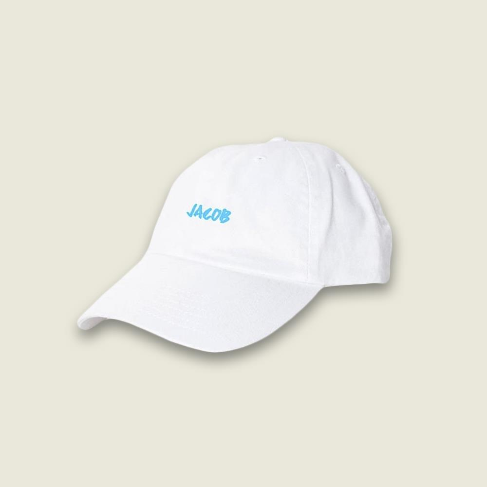 Blue Logo White Dad Hat