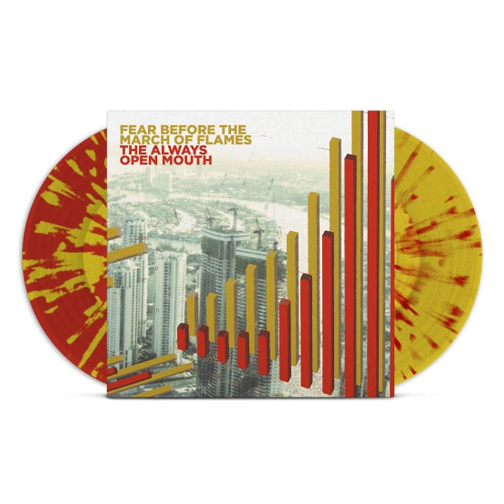 The March Of Flame The Always Open Mouth Red/Gold Splatter Vinyl 2Xlp