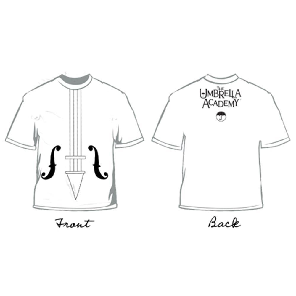 Violin White Girls Shirt