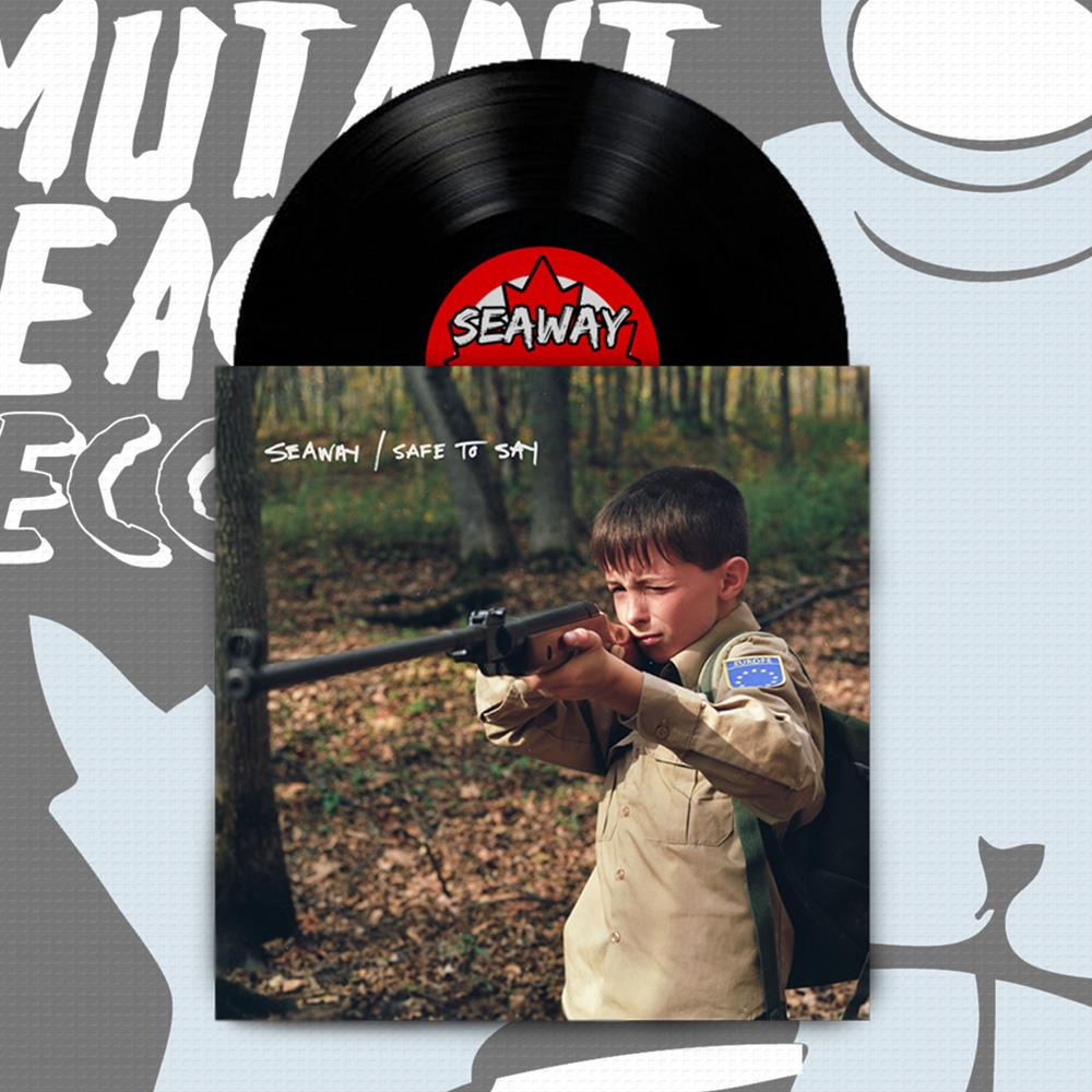 Seaway/Safe To Say - Split Black 7 Inch