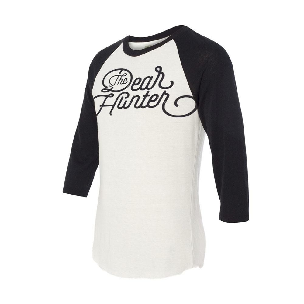 The Dear Hunter White Baseball T-Shirt