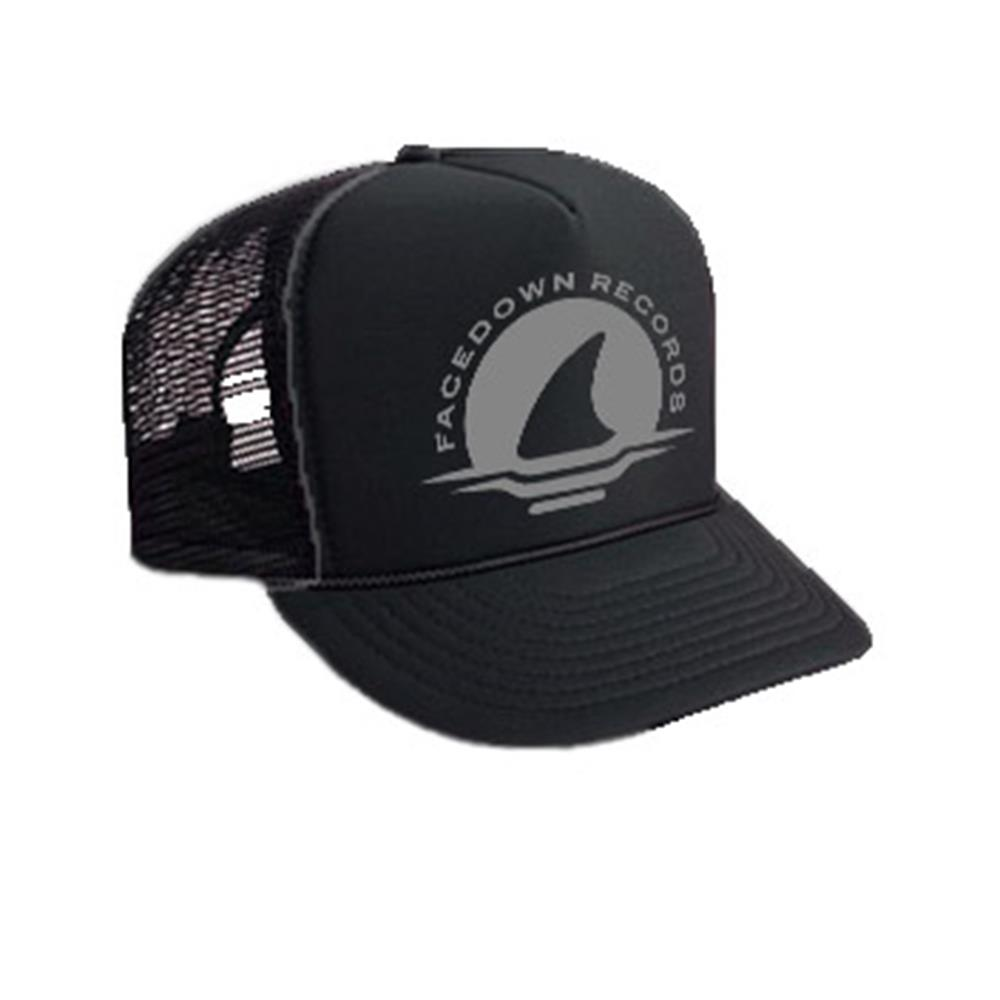 Shark Black Trucker Hat                                                                   Merch