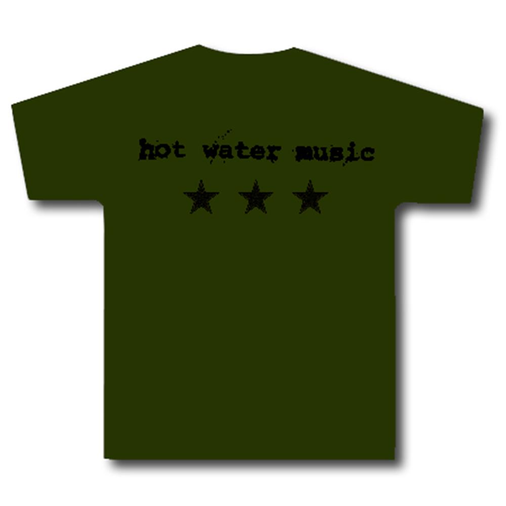 Hot Water Music - Stars Army Green