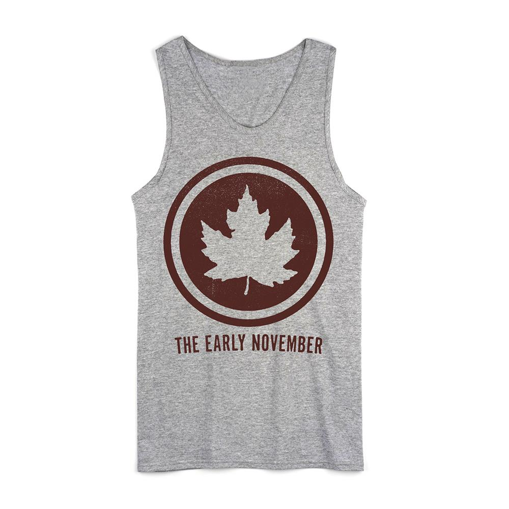 Logo Heather Grey Tank Top