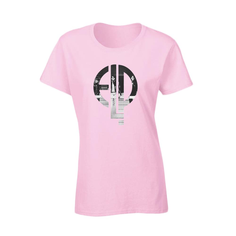 Photo Logo Light Pink Girl Shirt