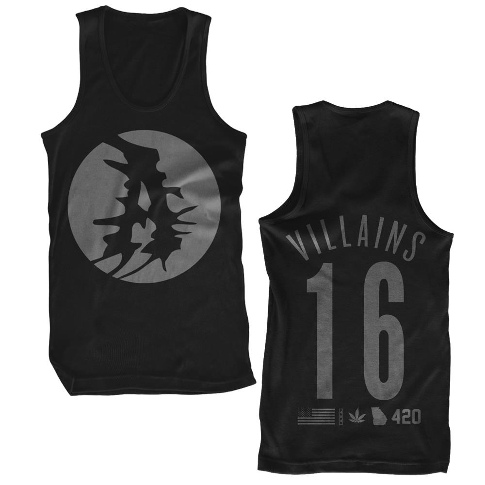 Villains 16 Black