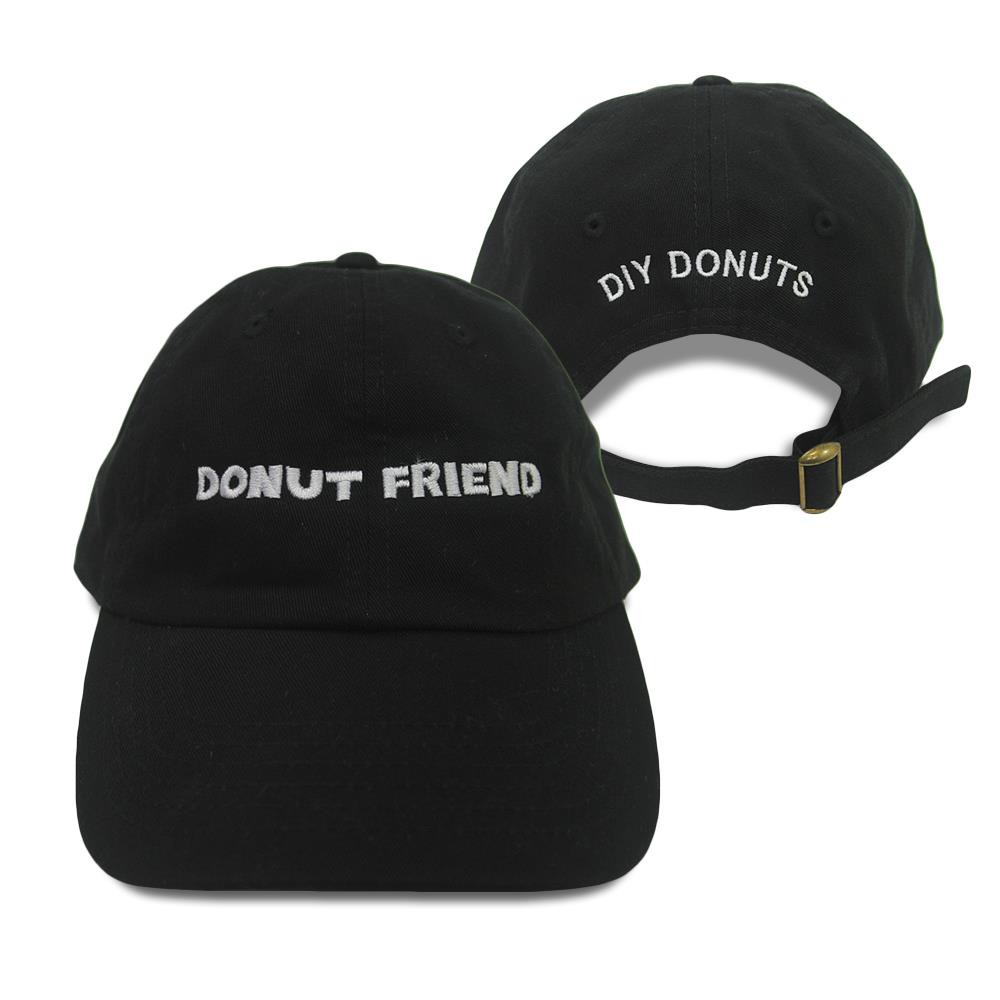 DIY Donuts Black Dad Hat
