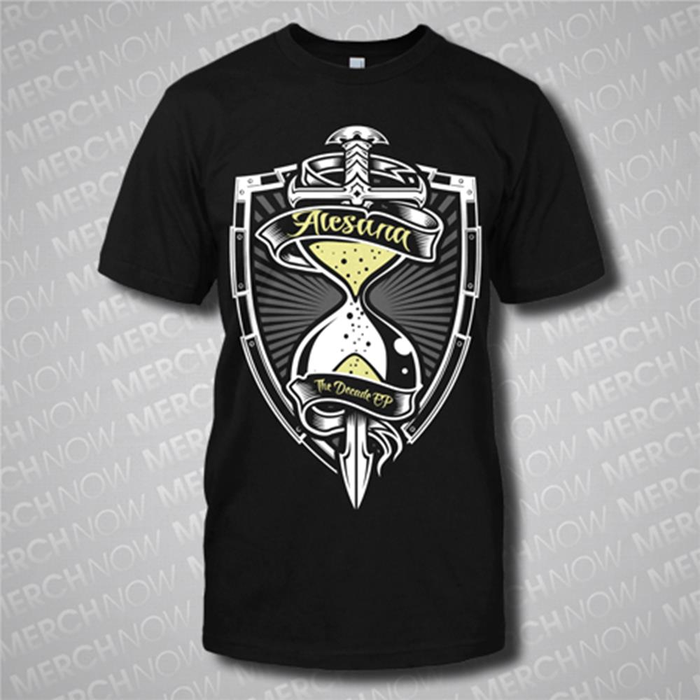 Hourglass Black T-Shirt