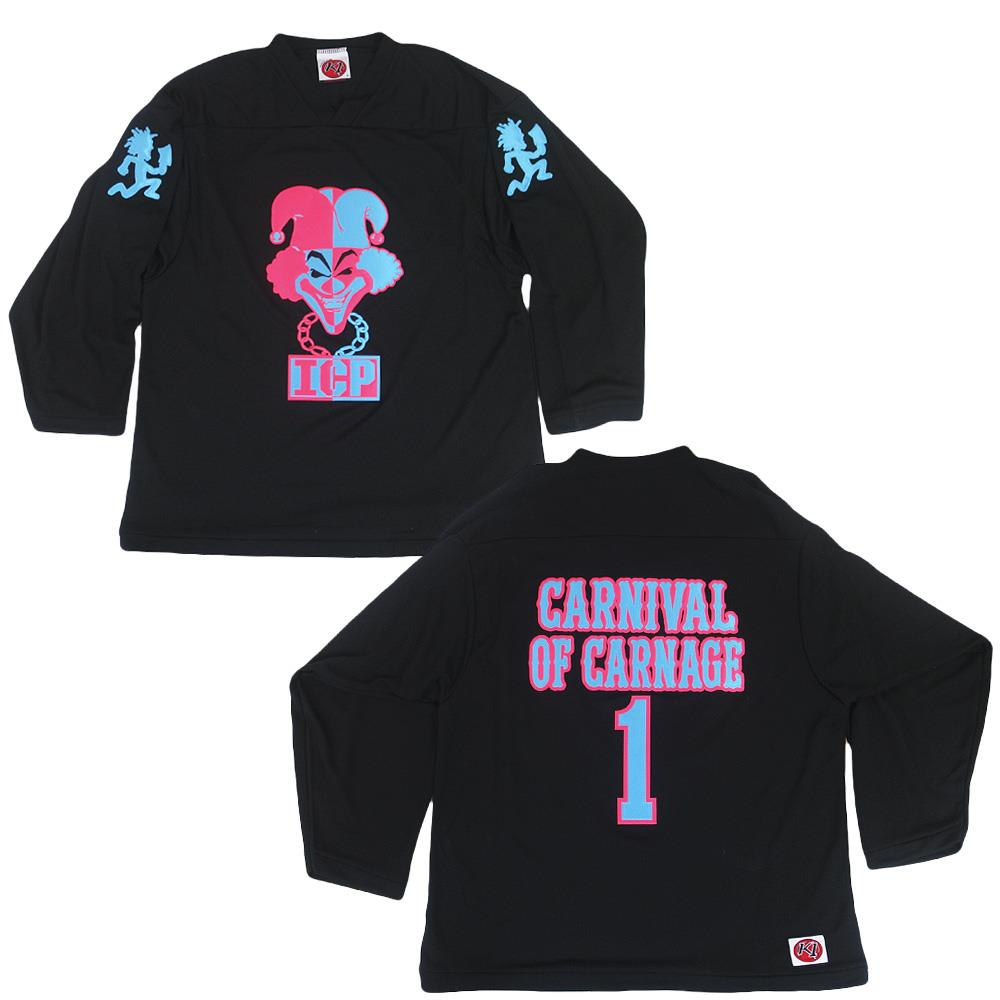 Carnival Of Carnage Black Hockey Jersey