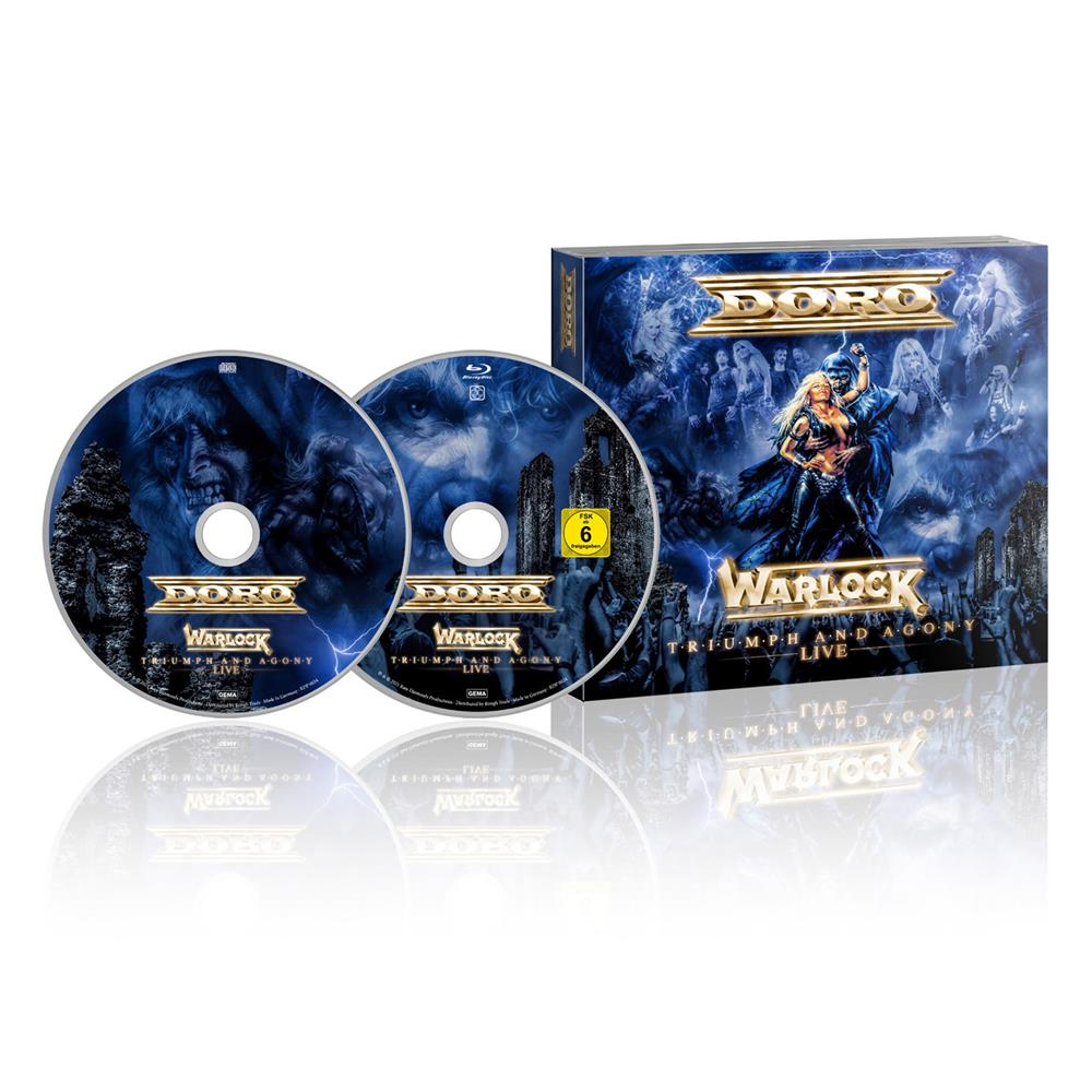 Triumph And Agony Live CD/Blu-ray