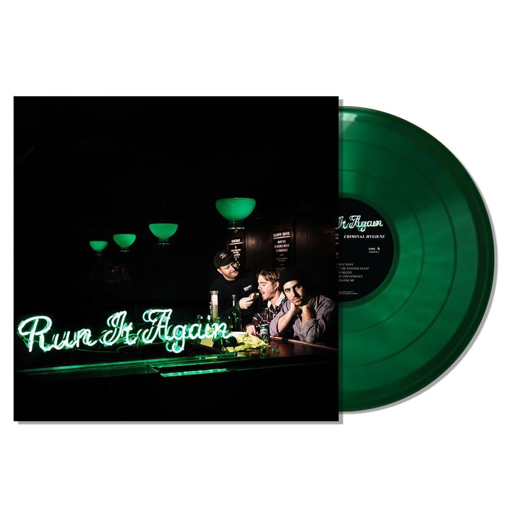 Run It Again Rolling Rock Green LP