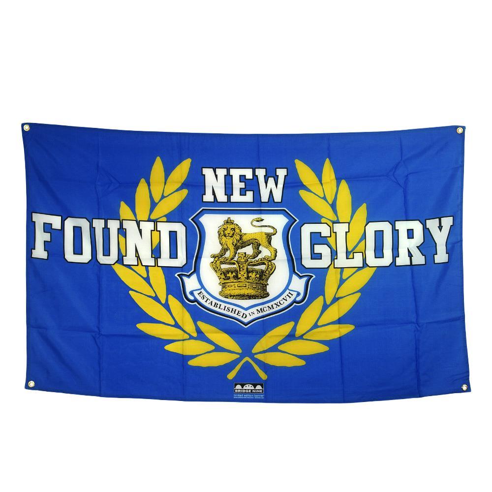 Crest Blue Flag