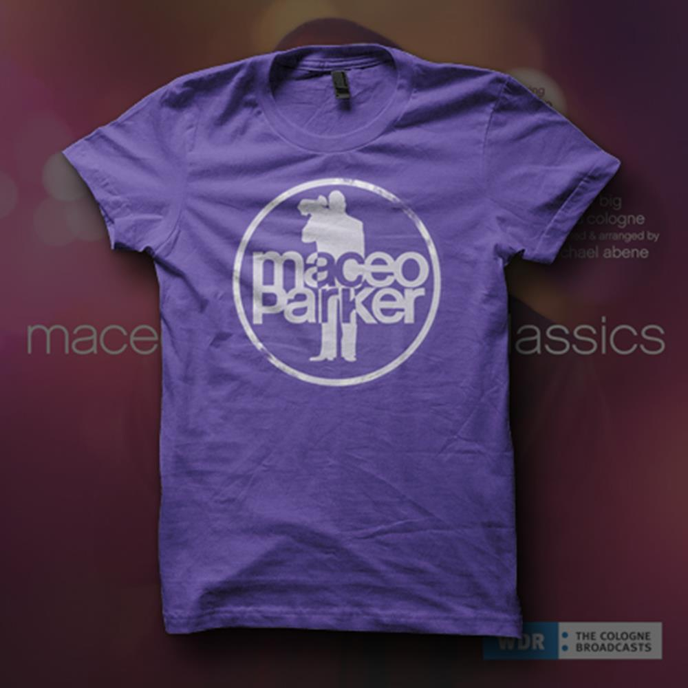 Ladies' Logo Organic Ultra Violet Girl Shirt