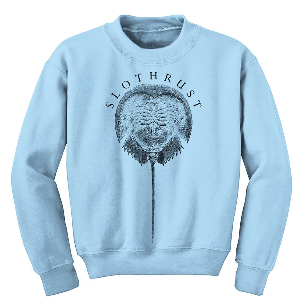 Horse Crab  Light Blue Crewneck