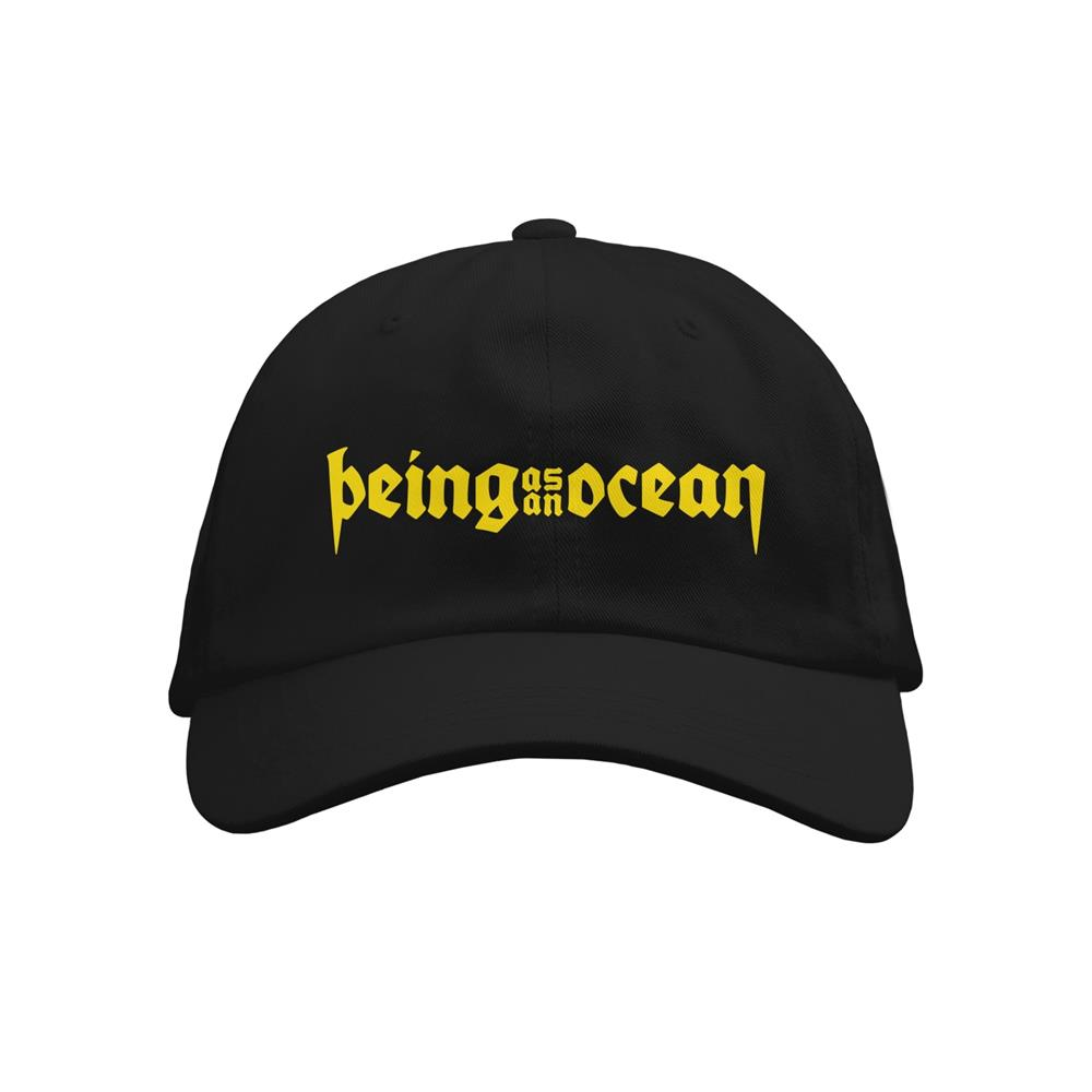 Yellow Logo Black Dad Hat