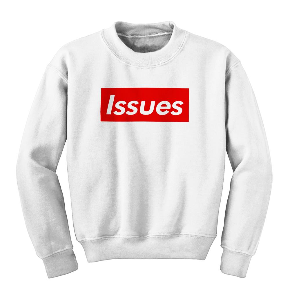 Box White Crewneck Large