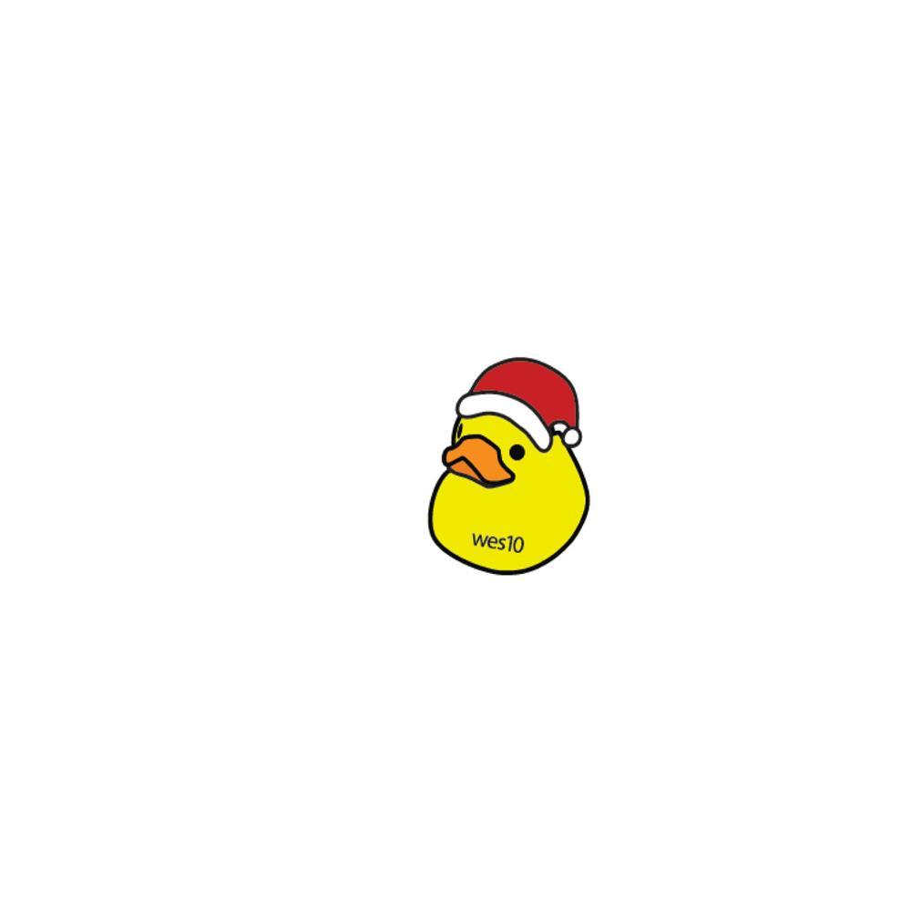 Westin Koury Santa Duck Wes10  Enamel