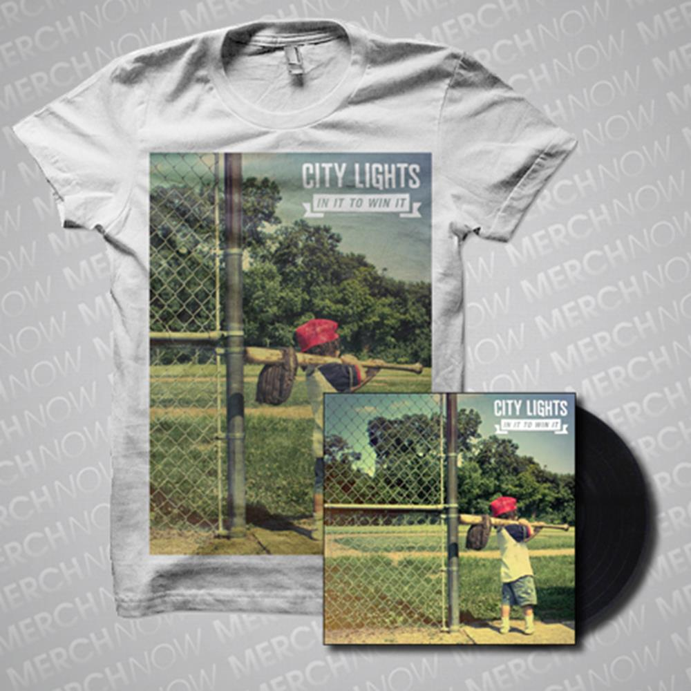 City Lights - LP + T-Shirt