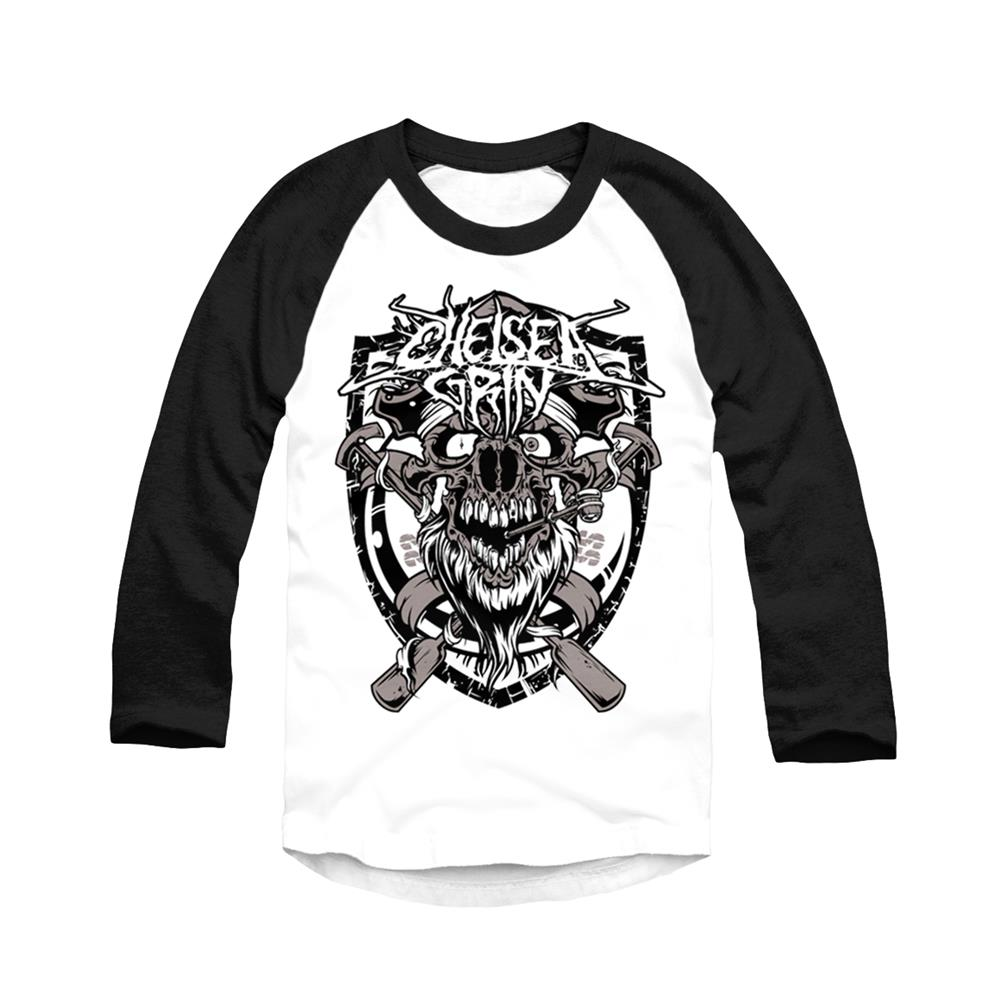 *Limited Stock* Bearded Black/White Baseball Shirt