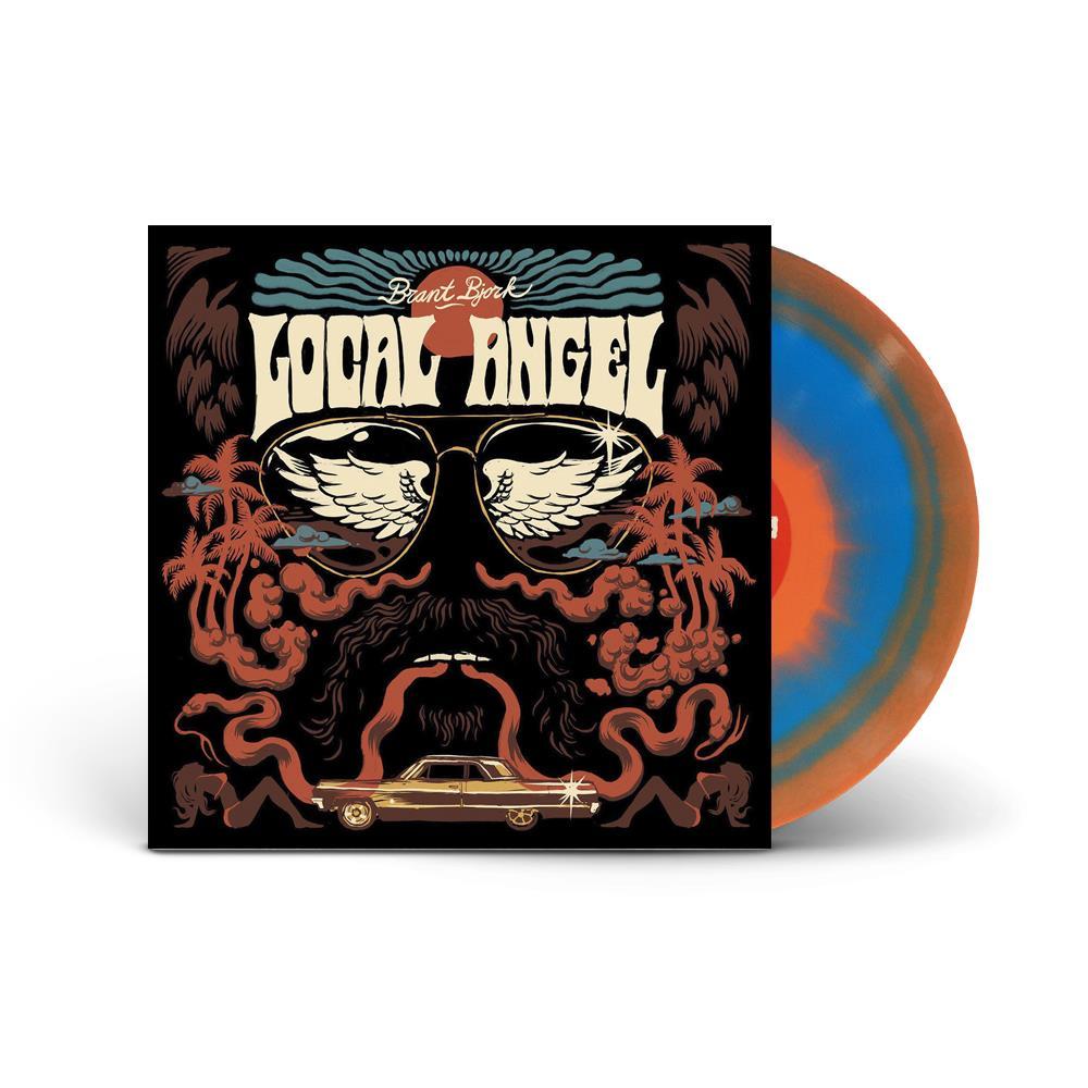 Local Angel Orange/Blue  W/ LTD Edition Black Cover