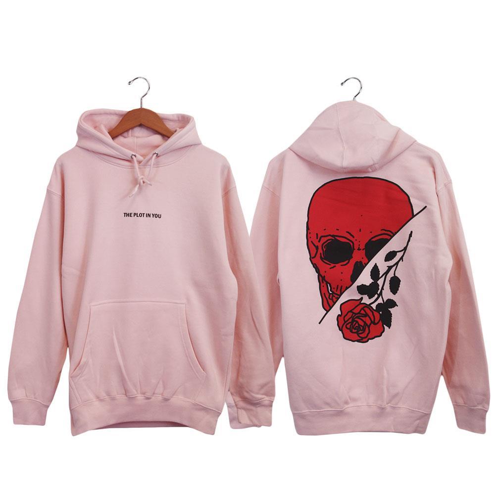 Rose Skull Pale Pink