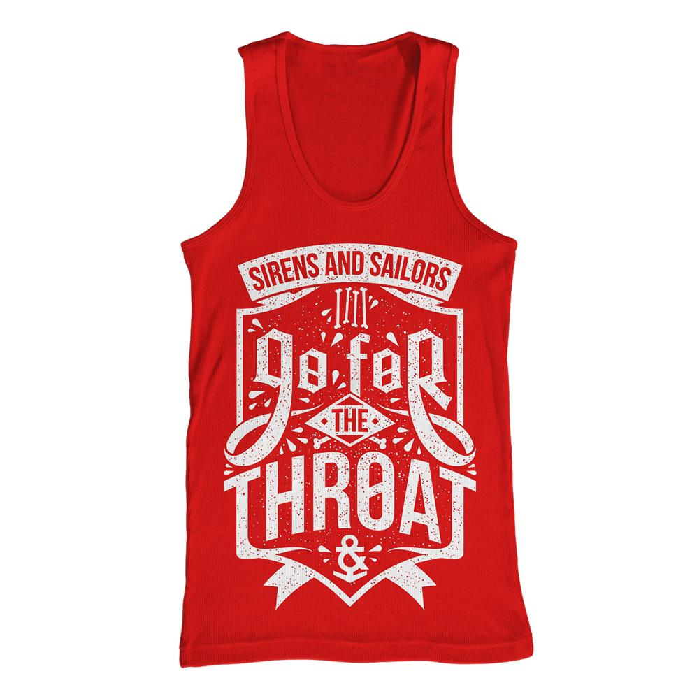 Go For The Throat Red TankTop