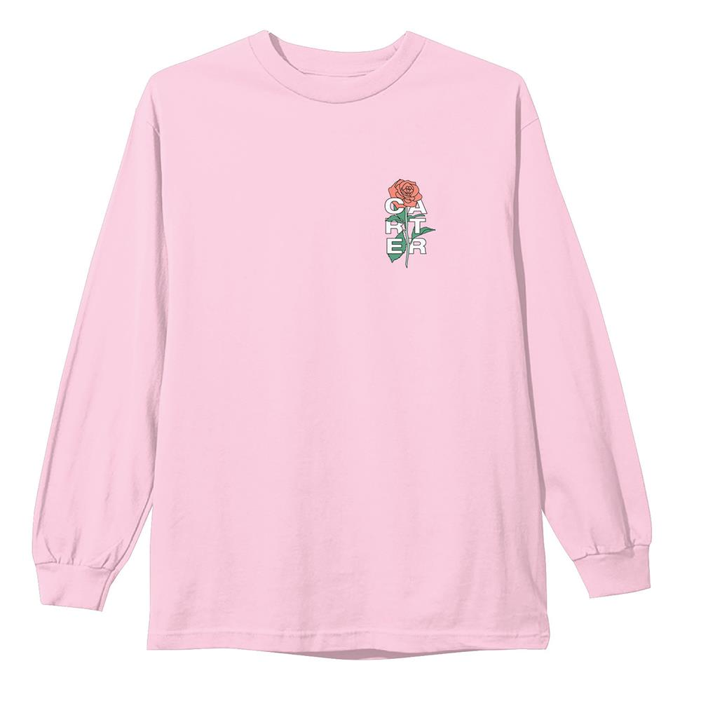 Rose Embroidered Pink