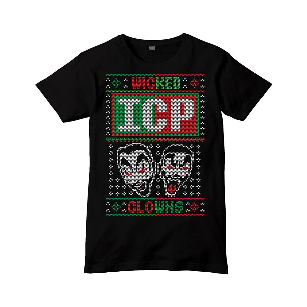 Wicked Clowns Xmas Black