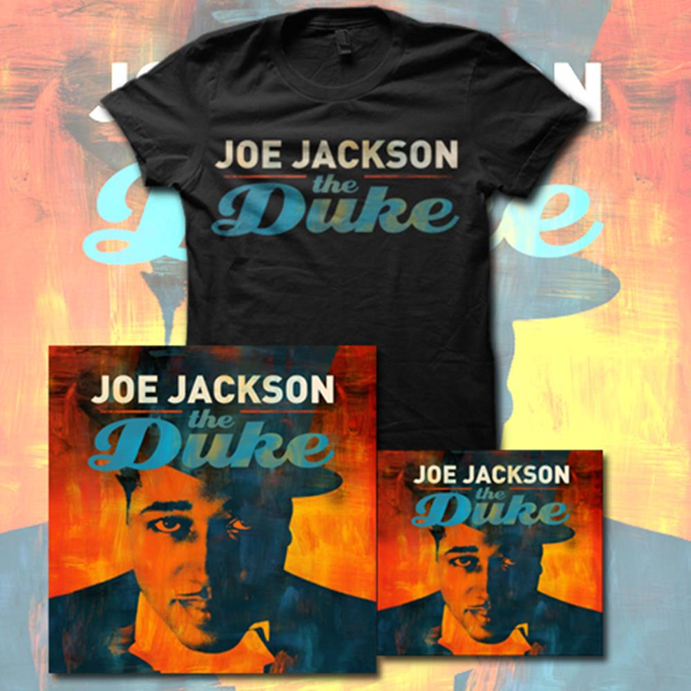 Joe Jackson - The Duke CD/Tee/Lithograph