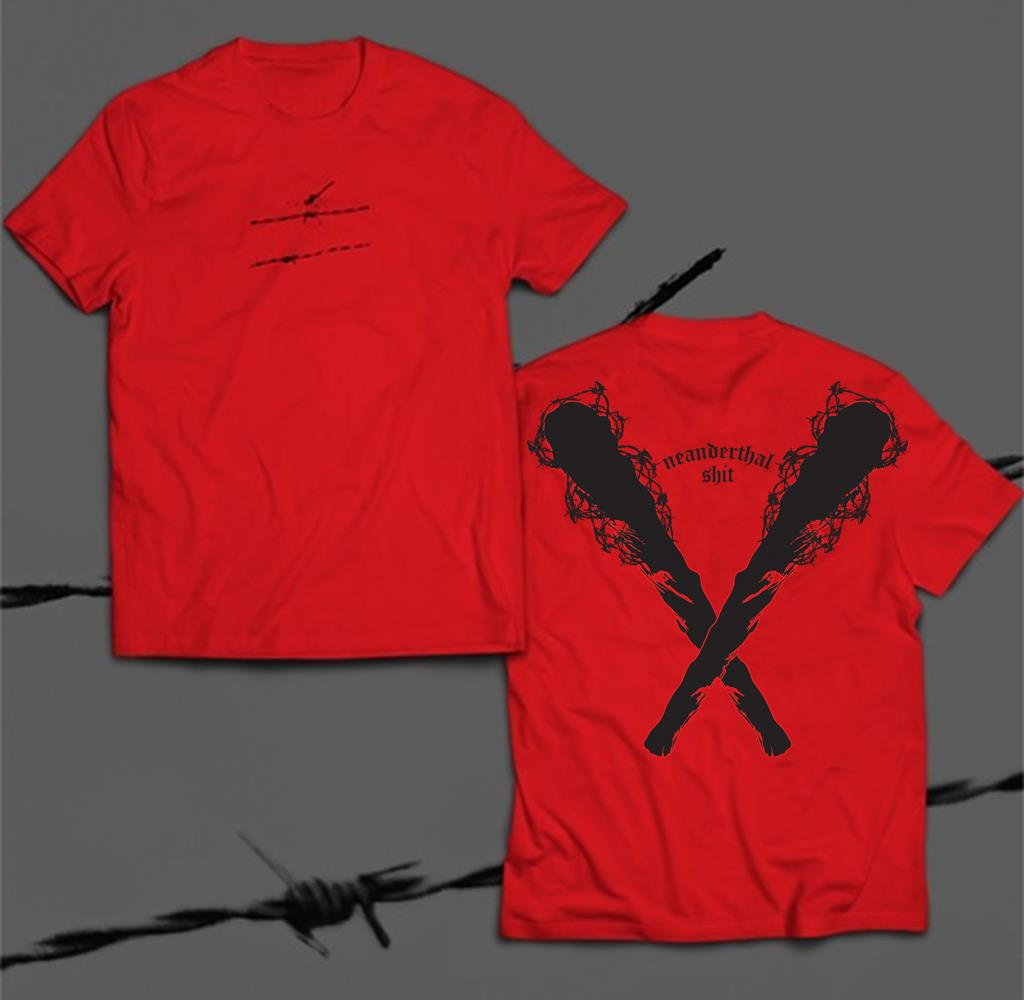 *Limited Stock* Neanderthal Shit Red