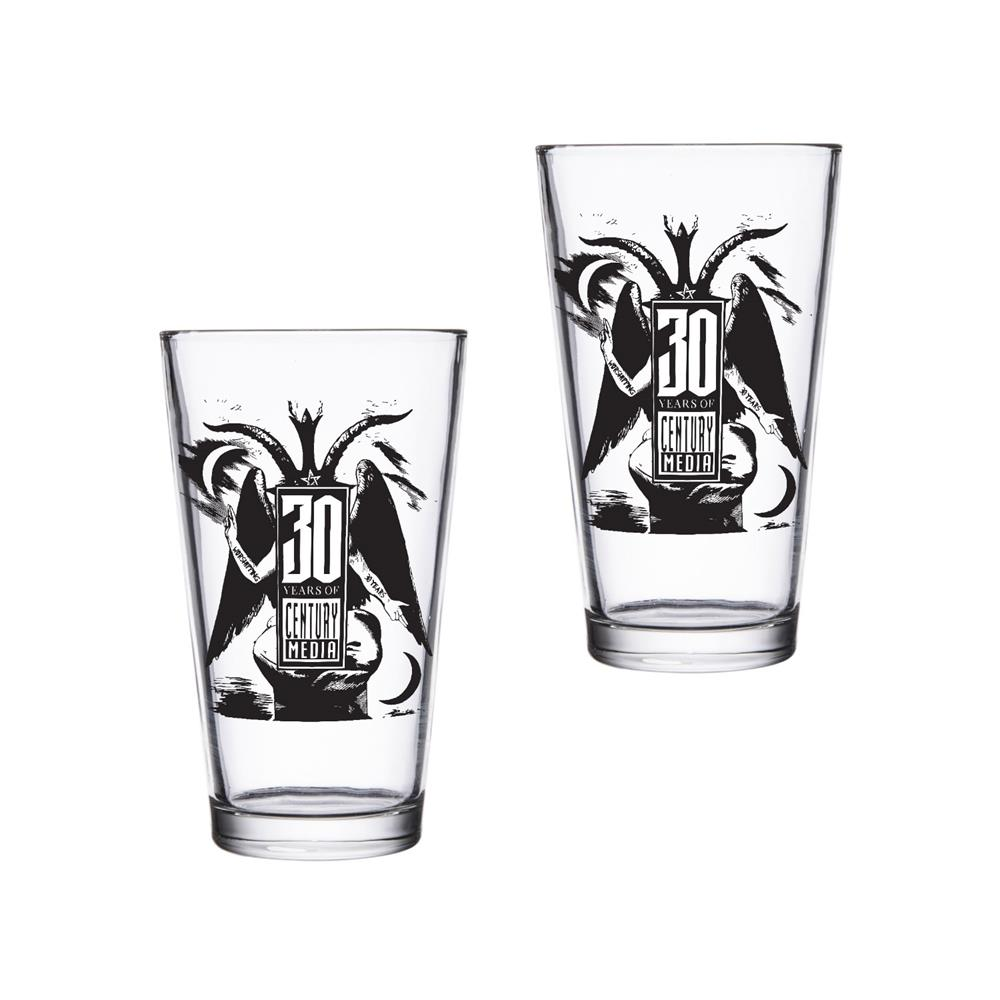 (2) 30th Anniversary Pint Glasses