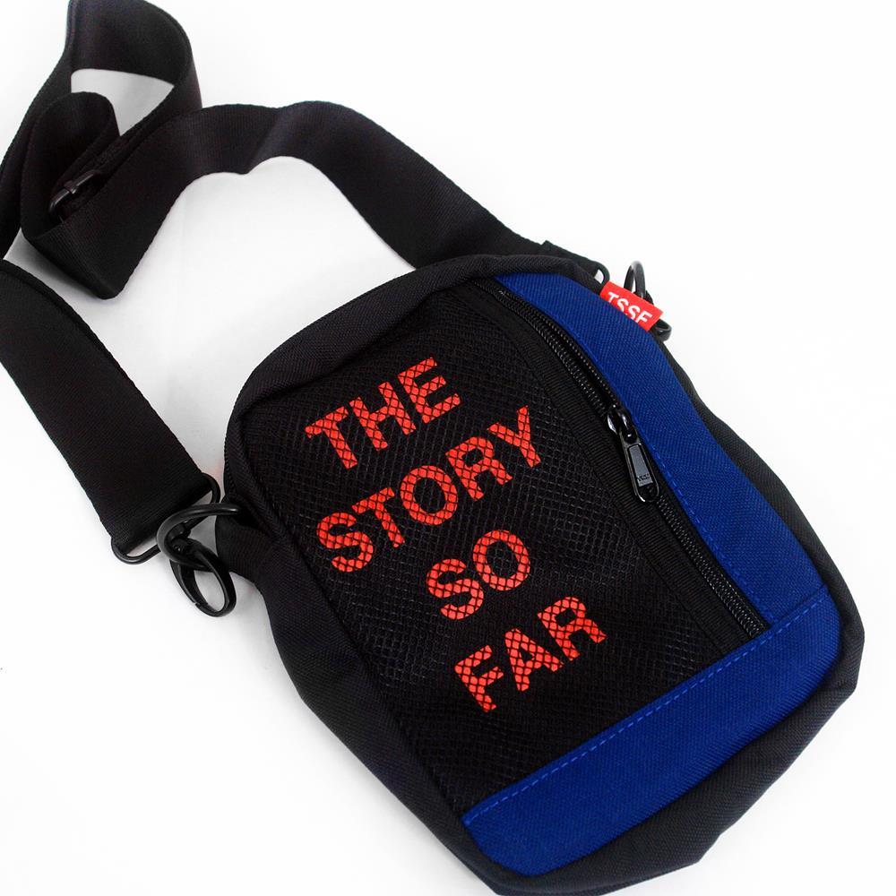 Logo Blue/Black Shoulder Bag