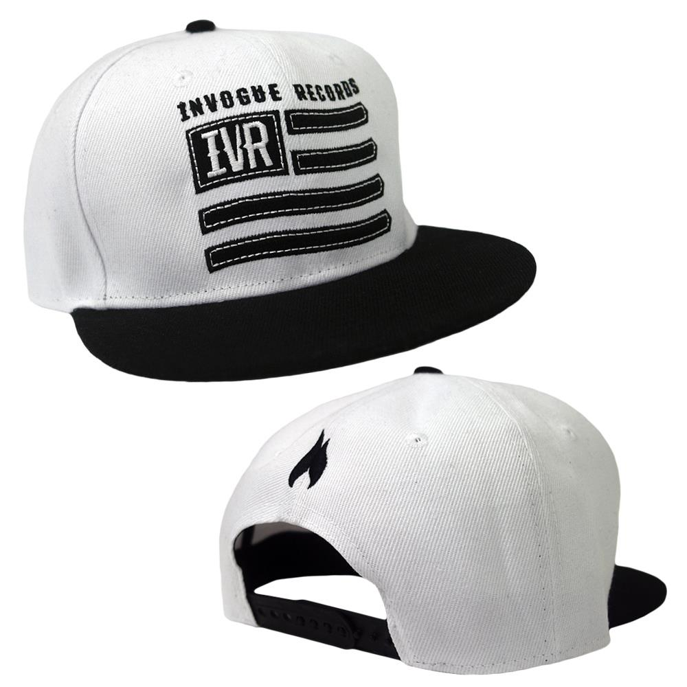 Flag White/Black Snapback